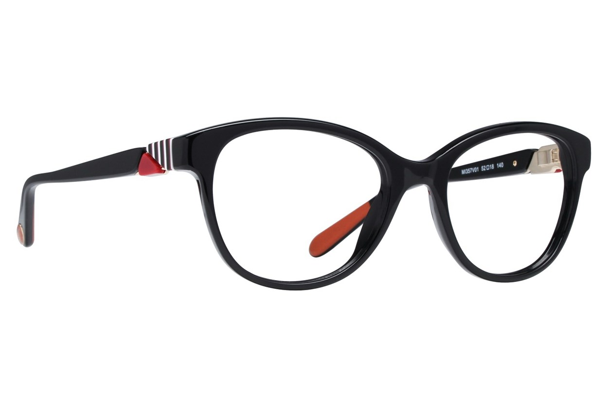 Missoni MI357V Black Eyeglasses