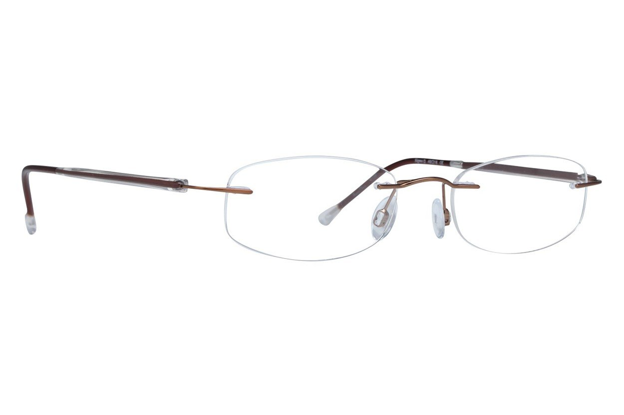 Invincilites Sigma D Eyeglasses - Brown