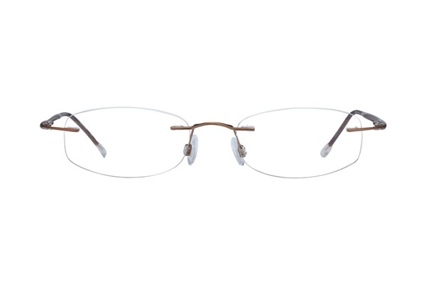 Invincilites Sigma D Brown Eyeglasses