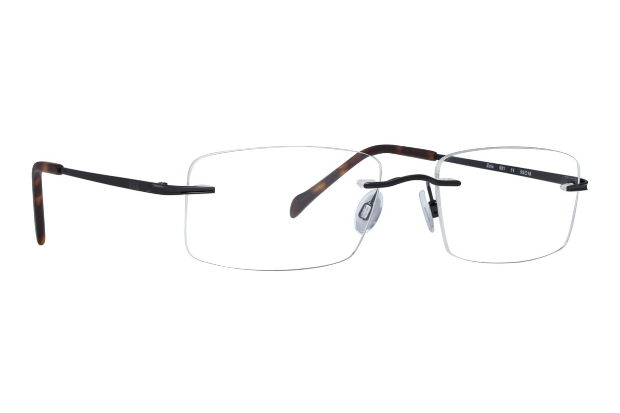 Invincilites Zeta 104 Black Eyeglasses