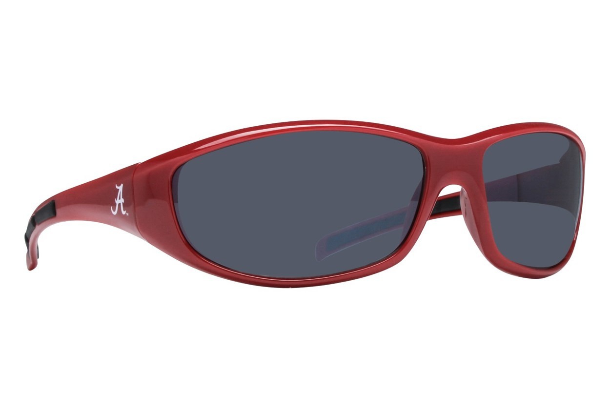 NCAA Alabama Crimson Tide Wrap Sunglasses Red Sunglasses
