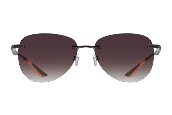 Lunettos Alan Brown Sunglasses