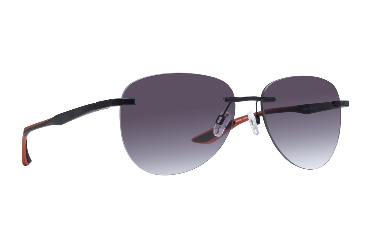Lunettos Alan Black Sunglasses