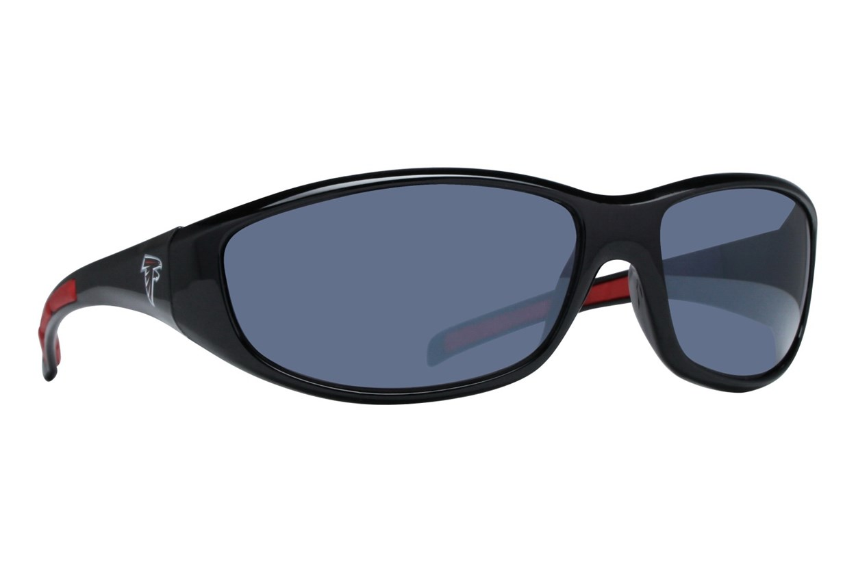 NFL Atlanta Falcons Wrap Sunglasses Sunglasses - Black