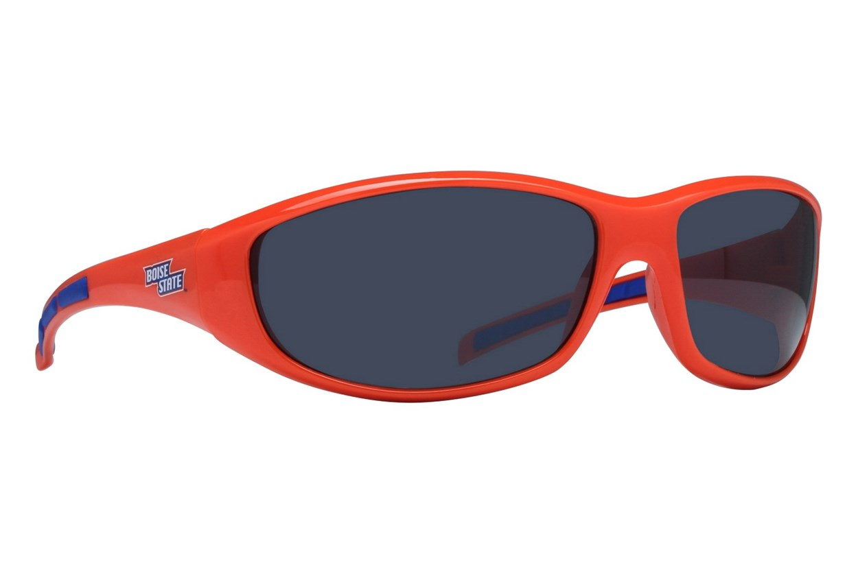 NCAA Boise State Broncos Wrap Sunglasses Sunglasses - Orange