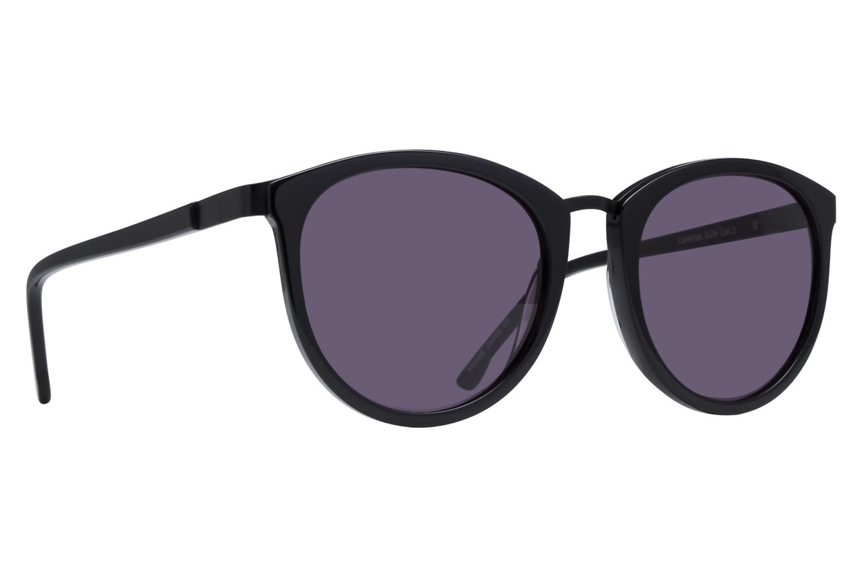 Lunettos Bonnie Black Sunglasses
