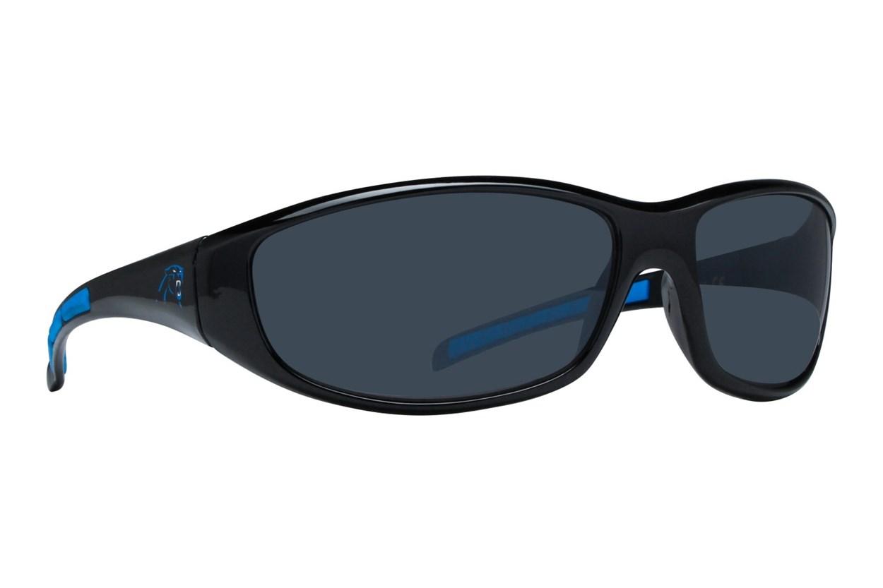 NFL Carolina Panthers Wrap Sunglasses Black Sunglasses