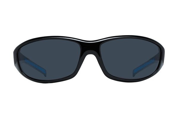NFL Carolina Panthers Wrap Sunglasses Sunglasses - Black