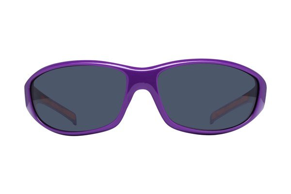 NCAA Clemson Tigers Wrap Sunglasses Sunglasses - Purple