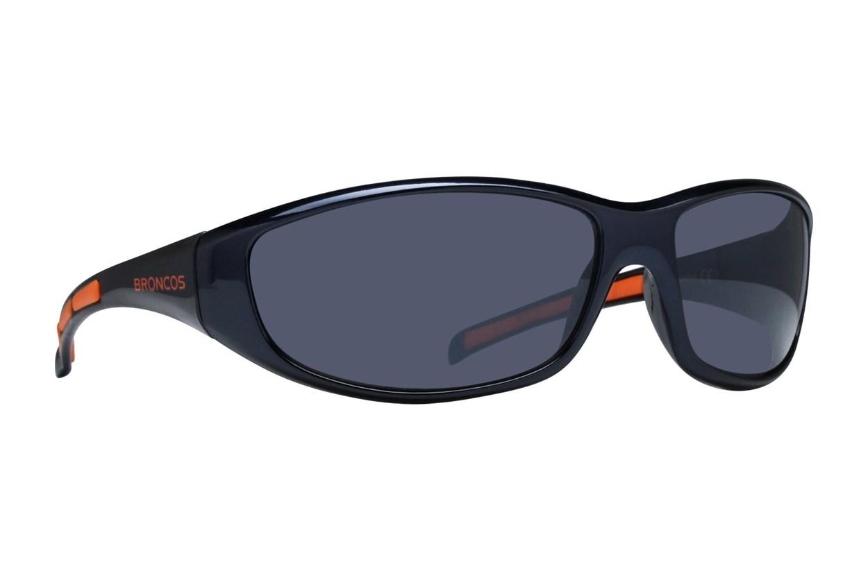 NFL Denver Broncos Wrap Sunglasses Blue Sunglasses