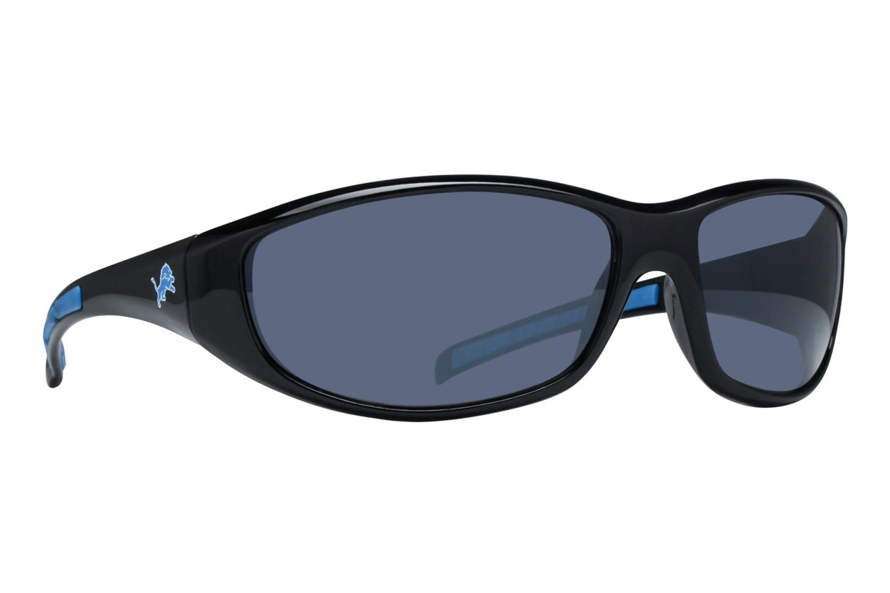 NFL Detroit Lions Wrap Sunglasses Sunglasses - Black