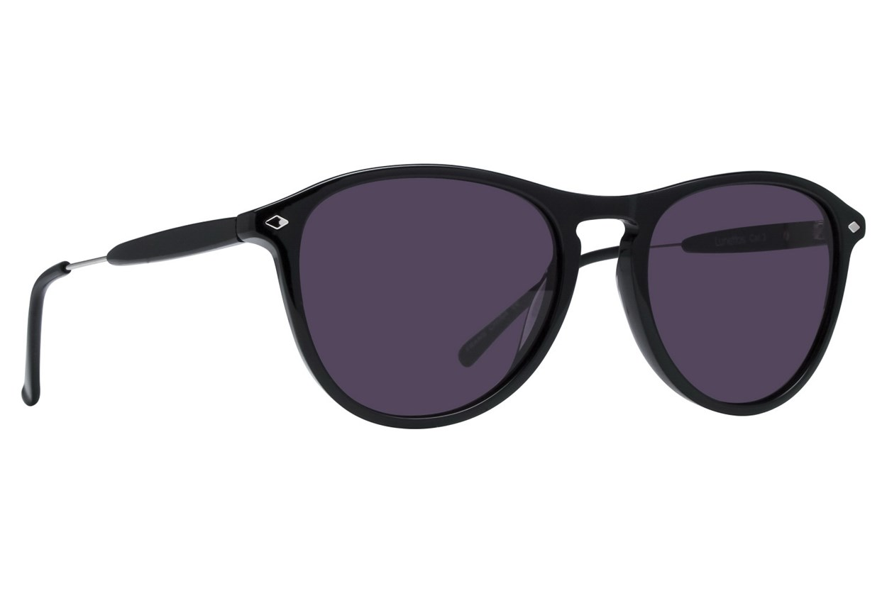 Lunettos Emery Sunglasses - Black