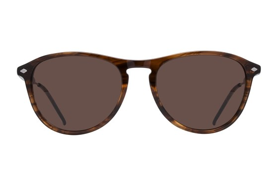 Lunettos Emery Brown Sunglasses
