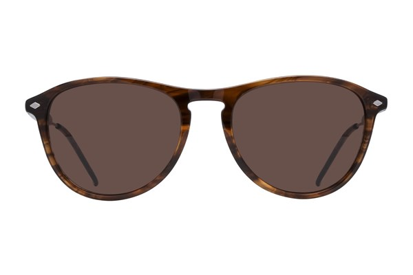 Lunettos Emery Sunglasses - Brown