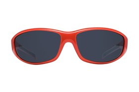 NCAA Georgia Bulldogs Wrap Sunglasses Orange