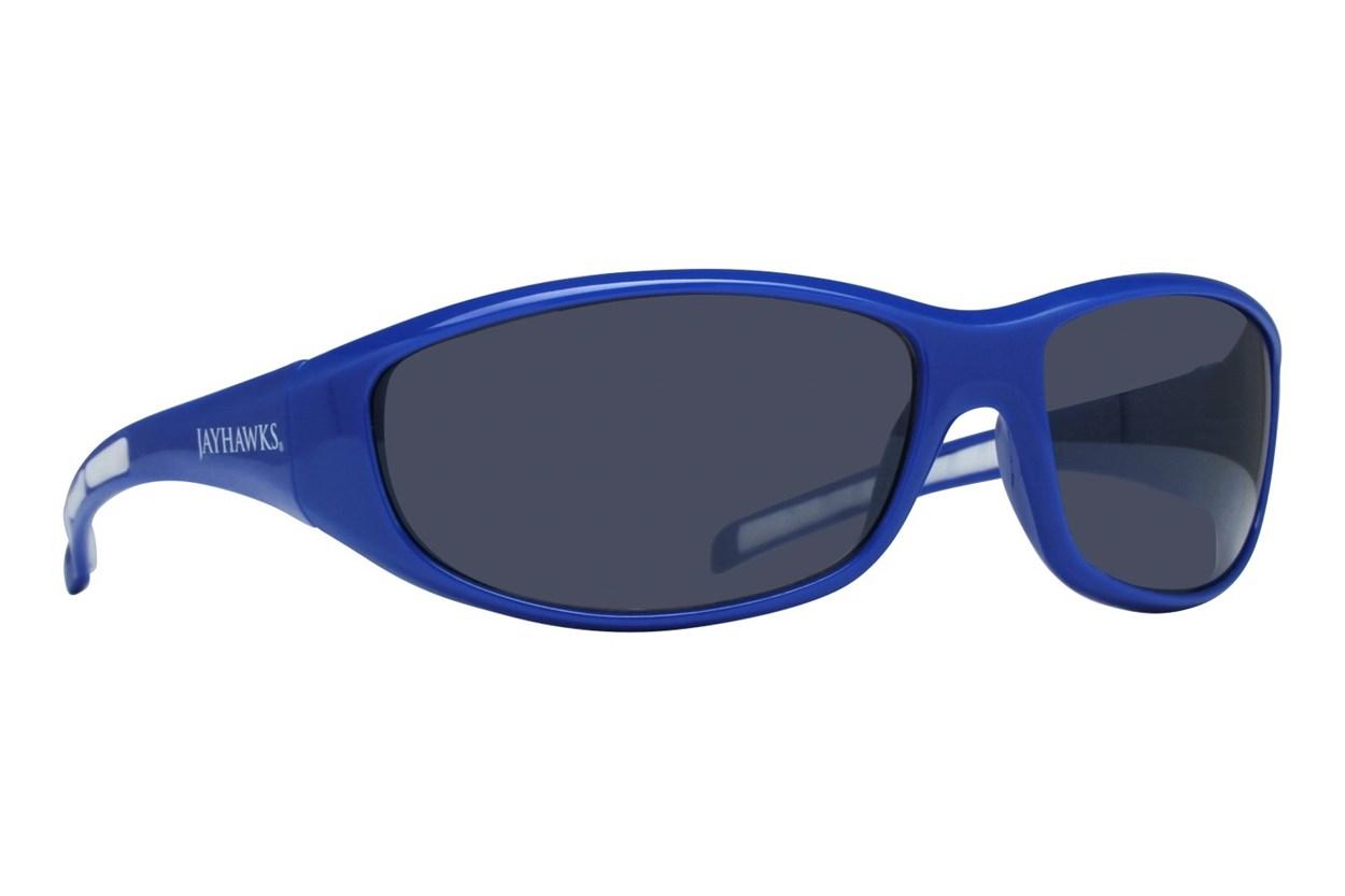 NCAA Kansas Jayhawks Wrap Sunglasses Blue Sunglasses