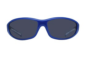 NCAA Kansas Jayhawks Wrap Sunglasses Blue