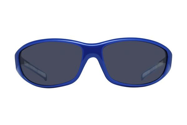 NCAA Kansas Jayhawks Wrap Sunglasses Sunglasses - Blue