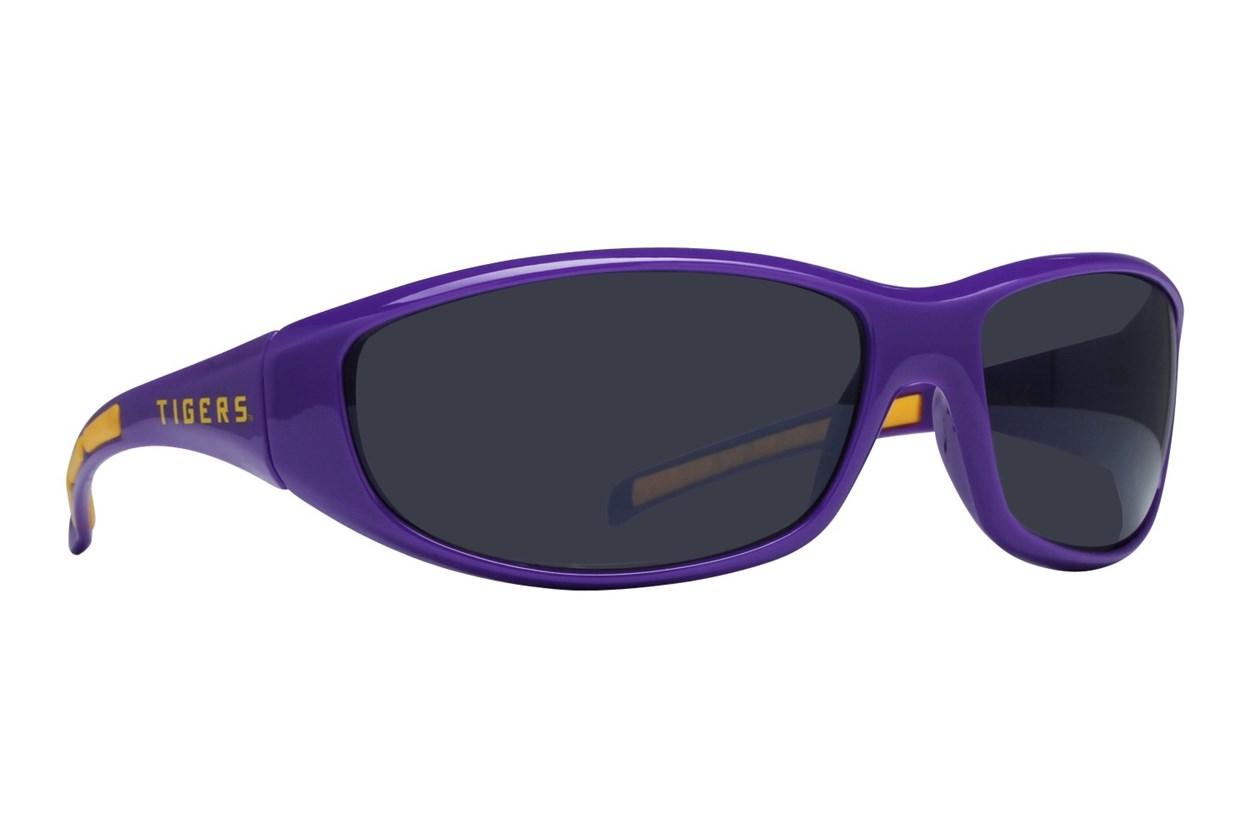 NCAA LSU Tigers Wrap Sunglasses Purple Sunglasses