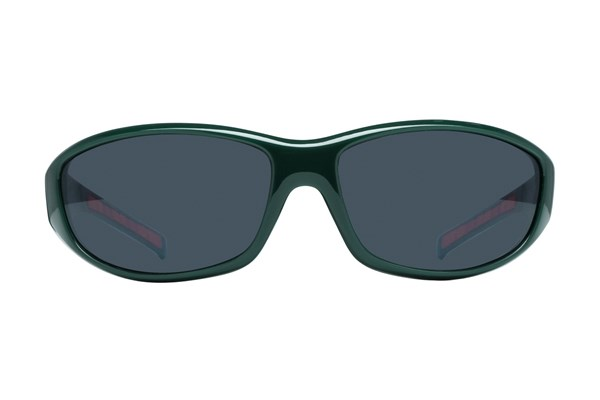 NCAA Miami Hurricanes Wrap Sunglasses Sunglasses - Green