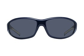 NCAA Michigan Wolverines Wrap Sunglasses Blue