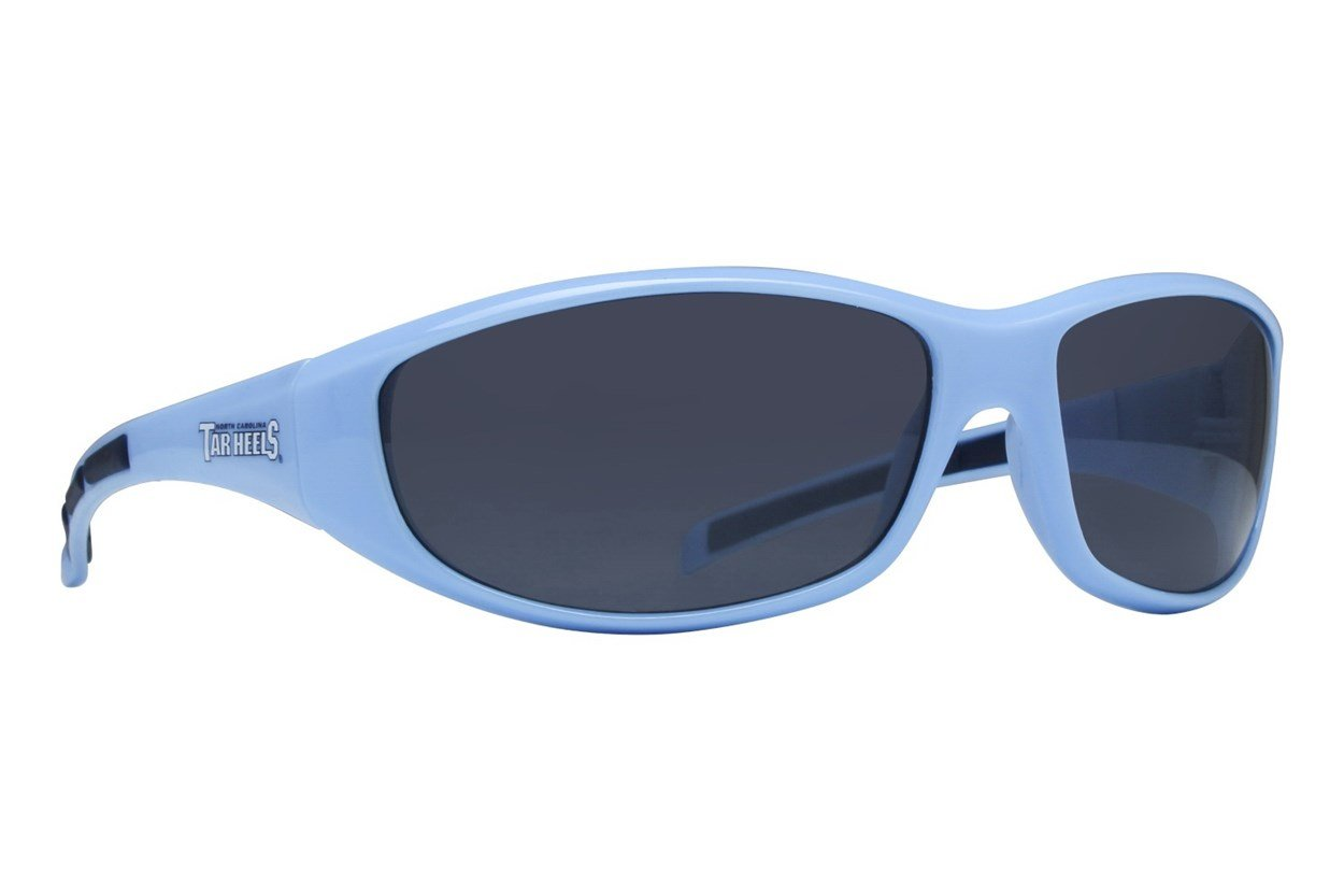 NCAA North Carolina Tar Heels Wrap Sunglasses Sunglasses - Blue