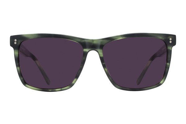Lunettos Neil Green Sunglasses