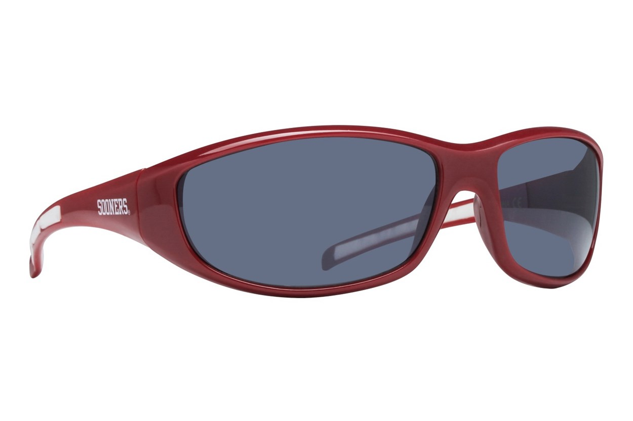 NCAA Oklahoma Sooners Wrap Sunglasses Red Sunglasses