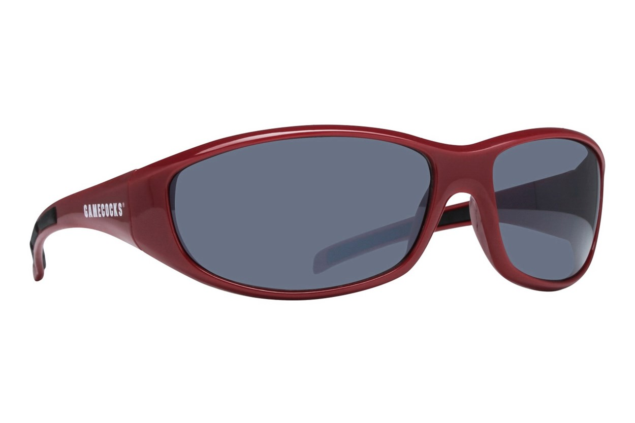 NCAA South Carolina Gamecocks Wrap Sunglasses Red Sunglasses