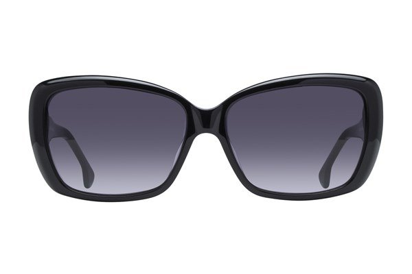 Lunettos Sally Black Sunglasses