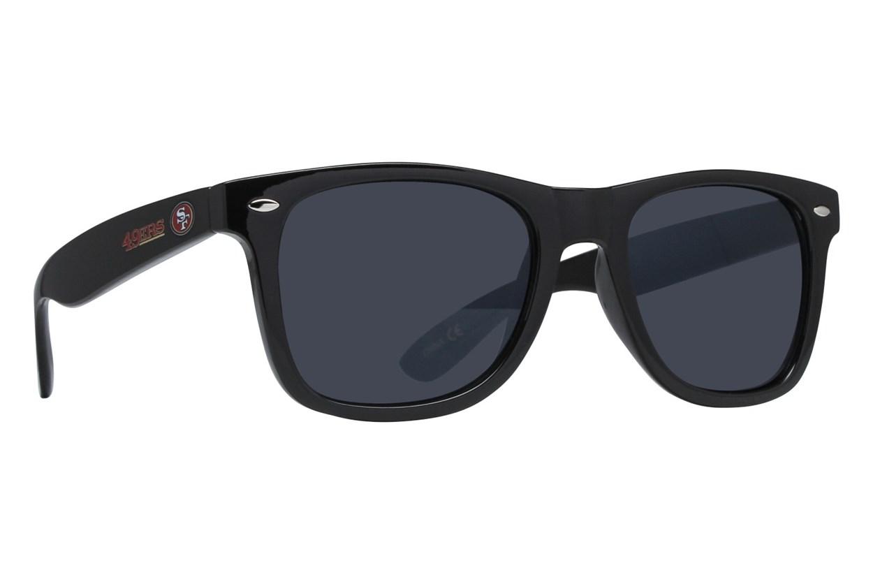 NFL San Francisco 49ers Beachfarer Sunglasses Black Sunglasses