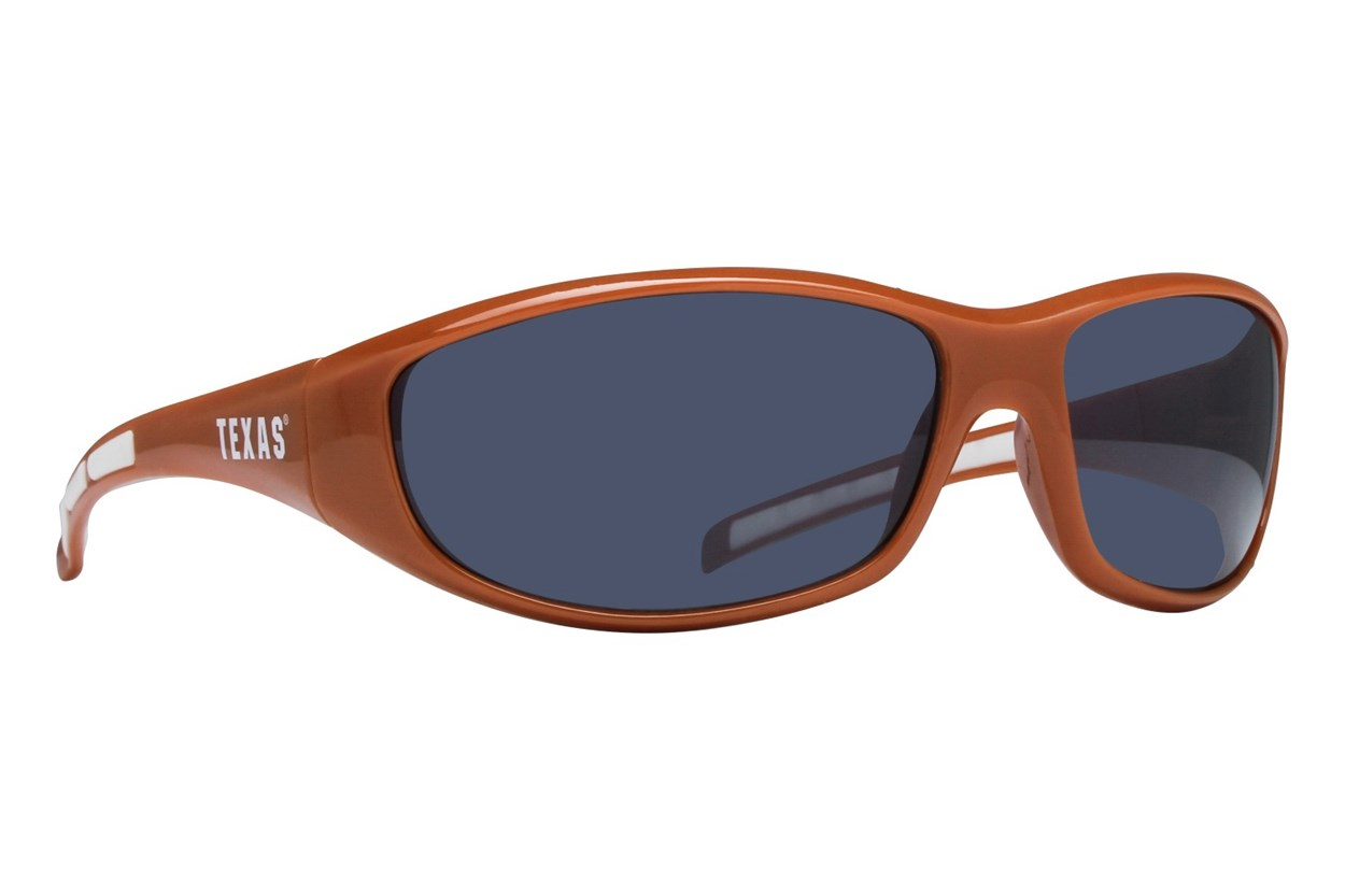 NCAA Texas Longhorns Wrap Sunglasses Sunglasses - Orange
