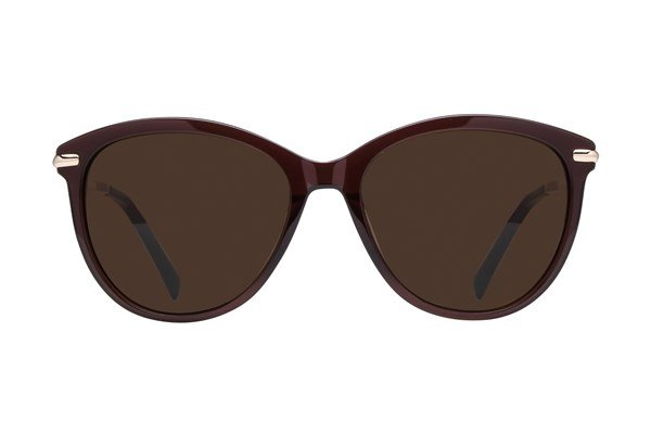 Lunettos Valentina Brown Sunglasses