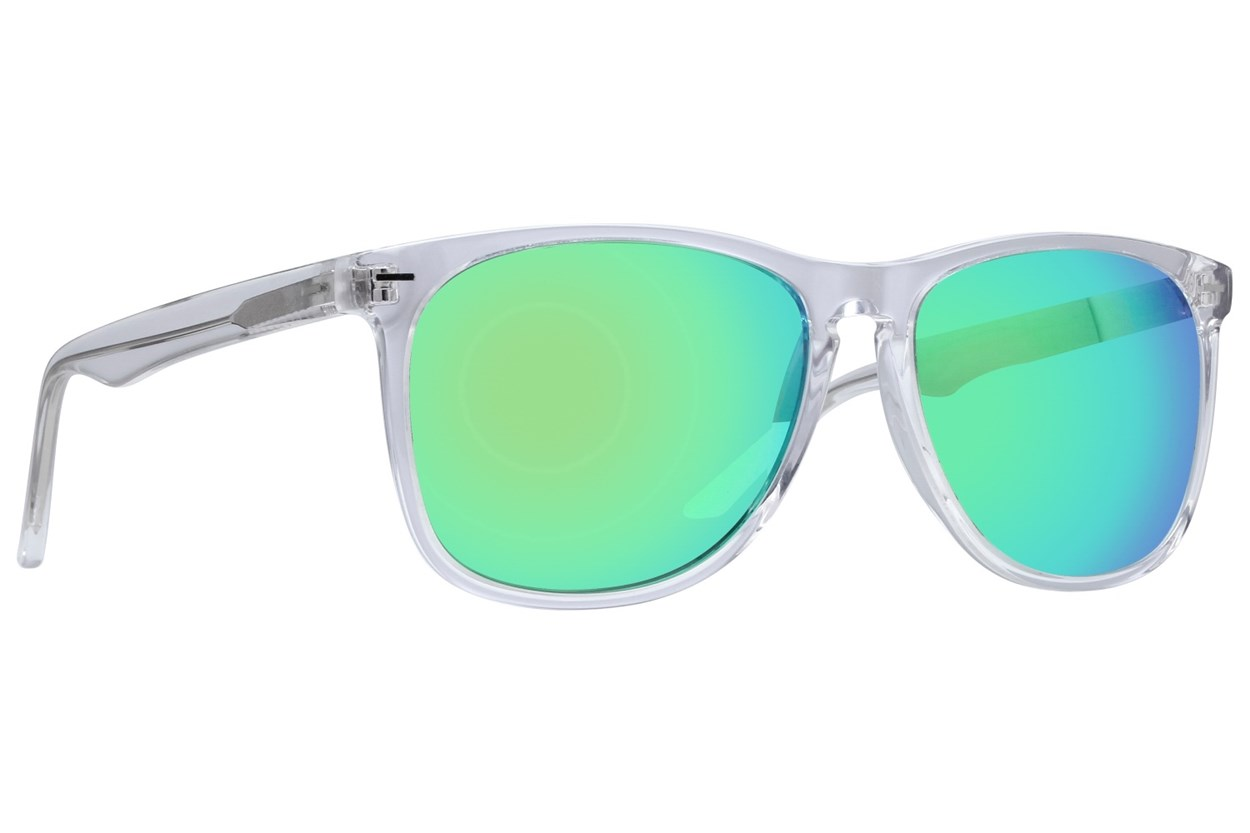 Lunettos Armstrong Clear Sunglasses