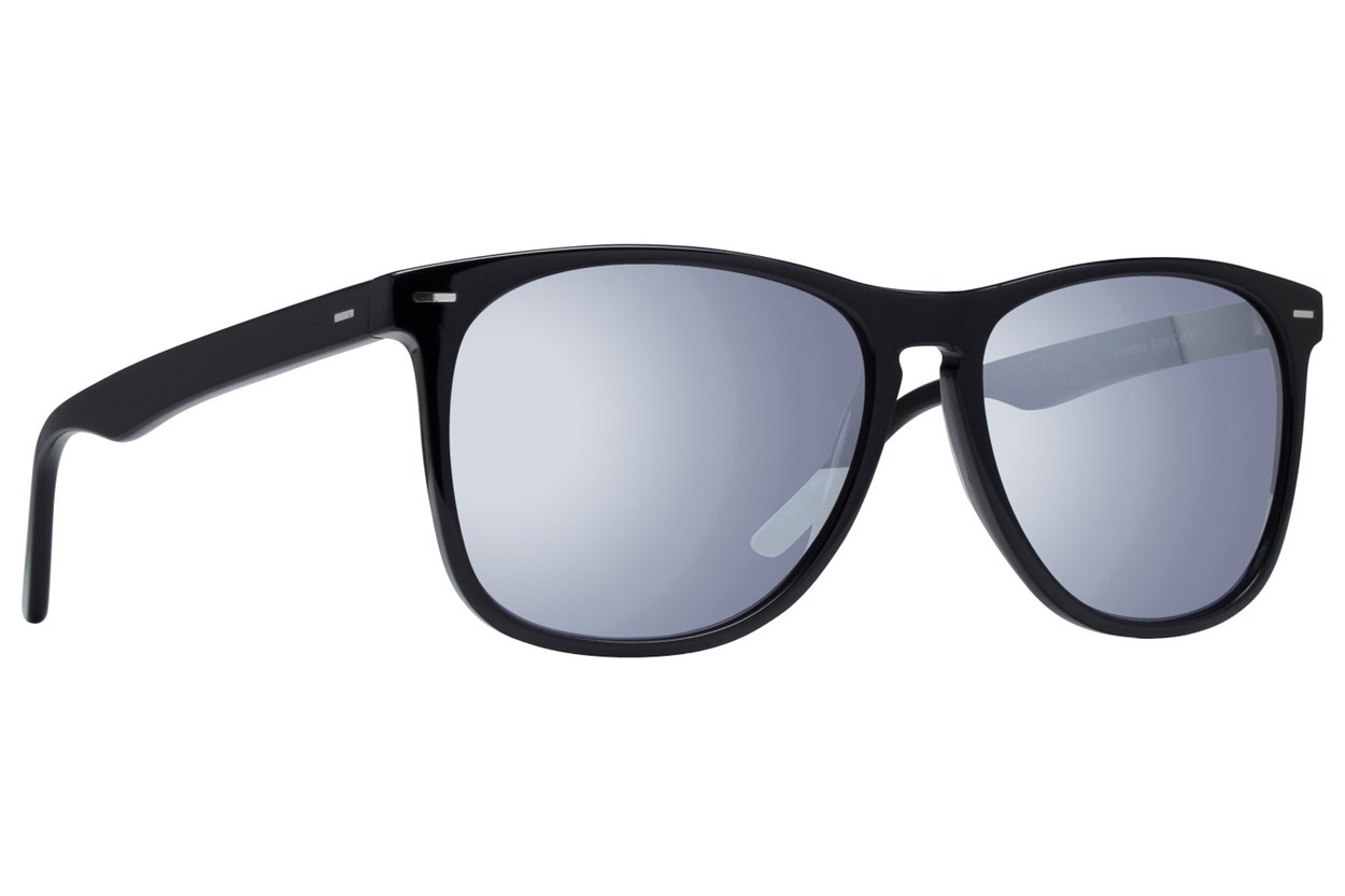 Lunettos Armstrong Black Sunglasses