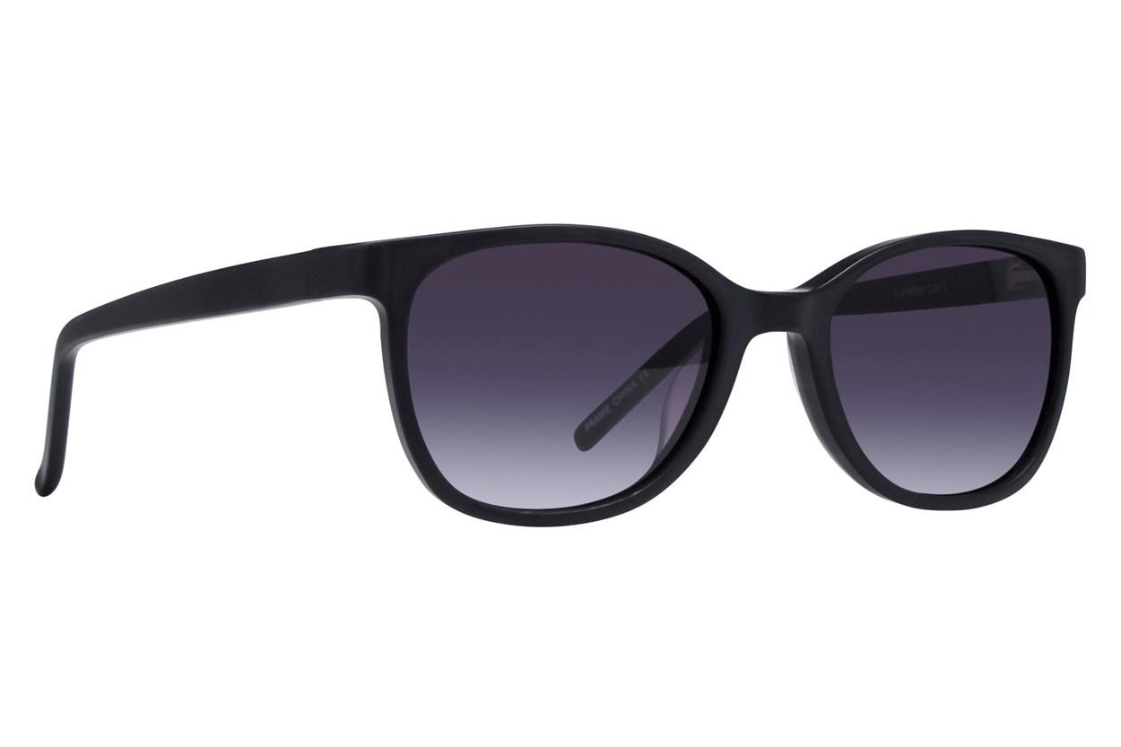 Lunettos Aurora Black Sunglasses