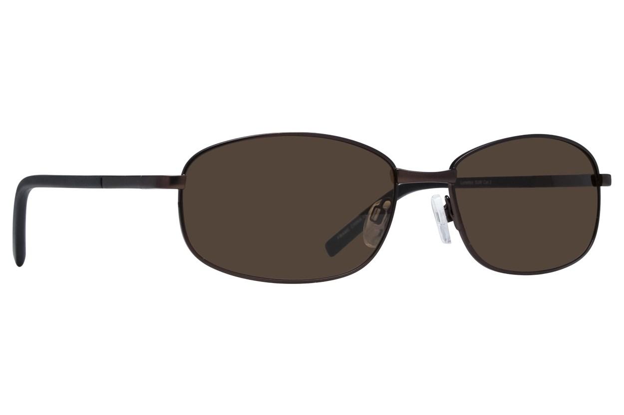 Lunettos Buzz Brown Sunglasses