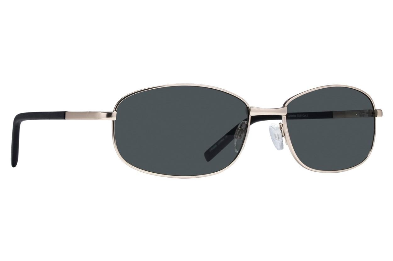 Lunettos Buzz Gold Sunglasses