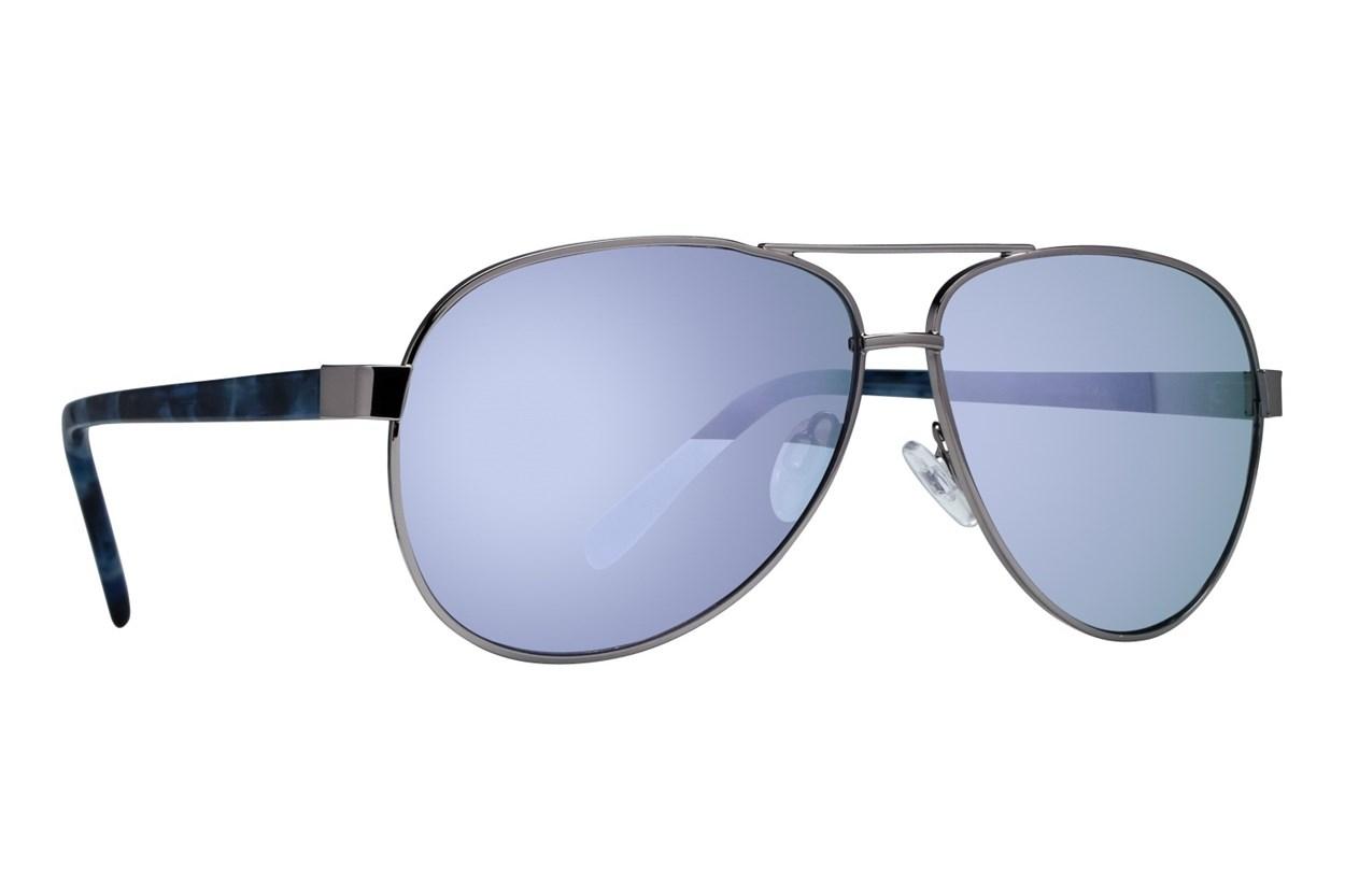 Lunettos Dana Silver Sunglasses