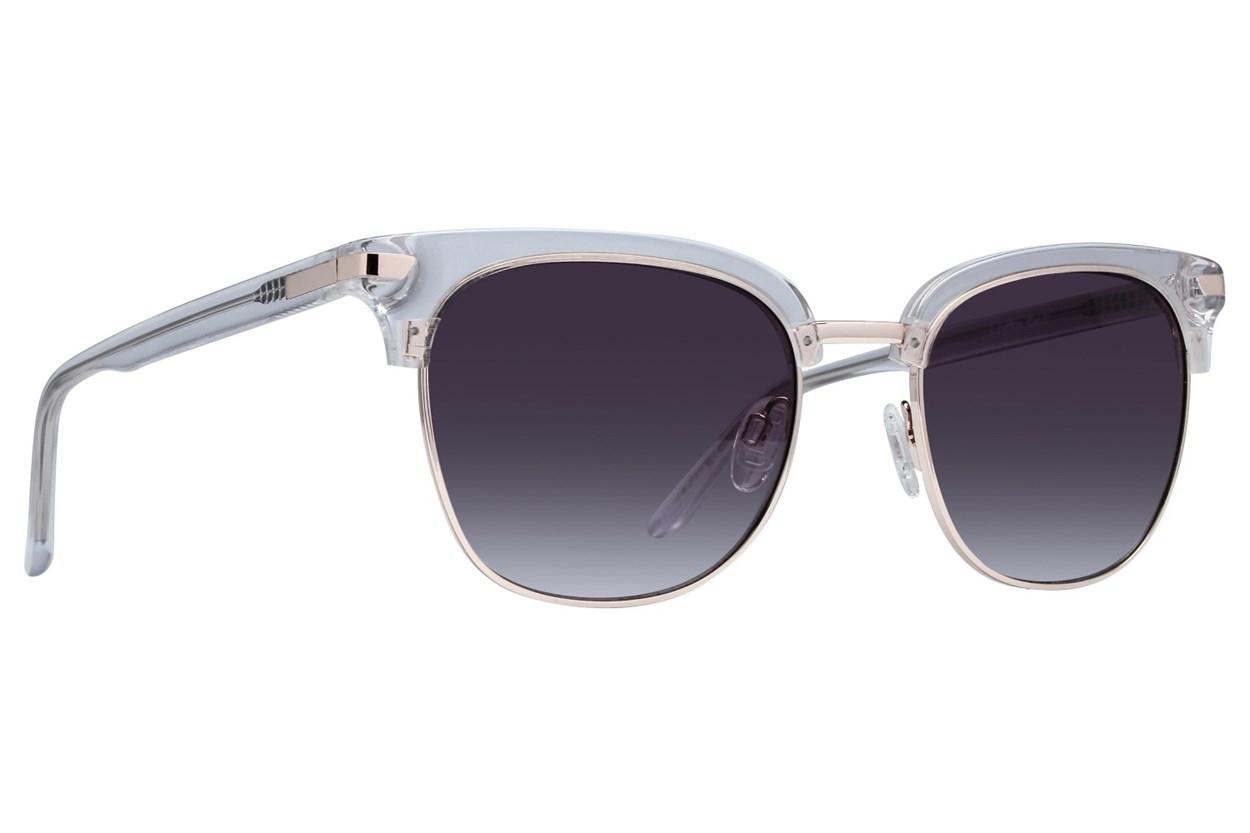 Lunettos Glenn Clear Sunglasses
