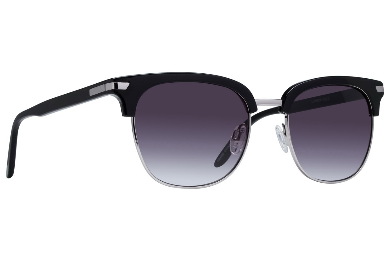 Lunettos Glenn Sunglasses - Black