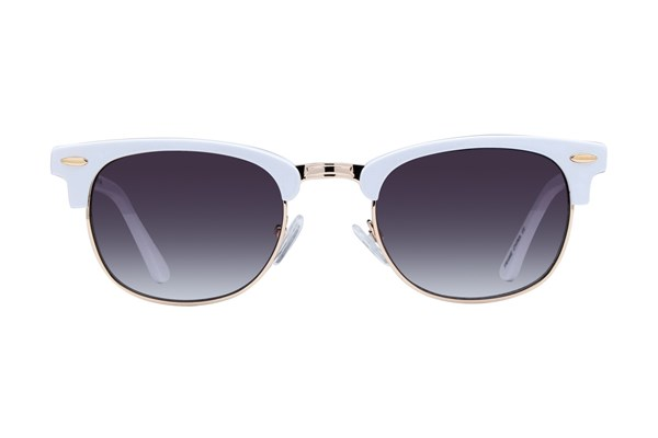 Lunettos Iris Sunglasses - White