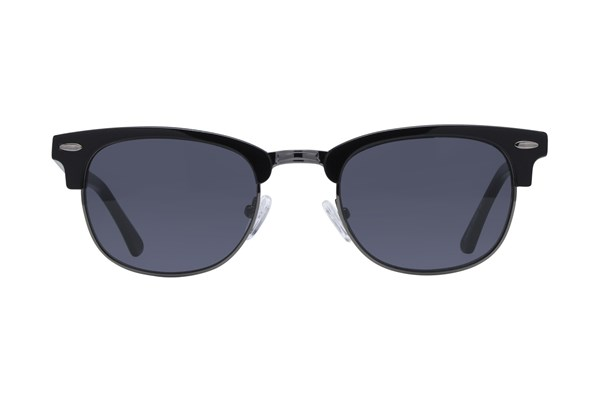 Lunettos Iris Black Sunglasses