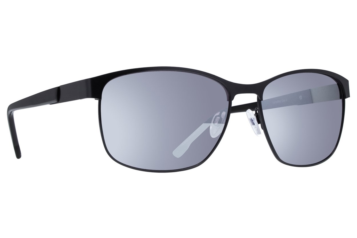 Lunettos John Black Sunglasses