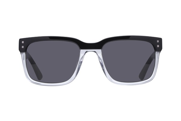 Lunettos Lovell Black Sunglasses