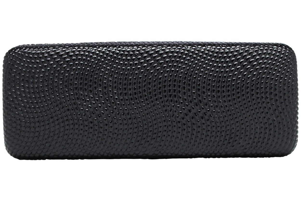 Evolutioneyes Textured Pebble Eyeglass Case Black GlassesCases