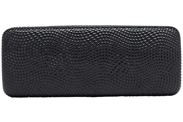 Evolutioneyes Textured Pebble Eyeglass Case 50 - Black