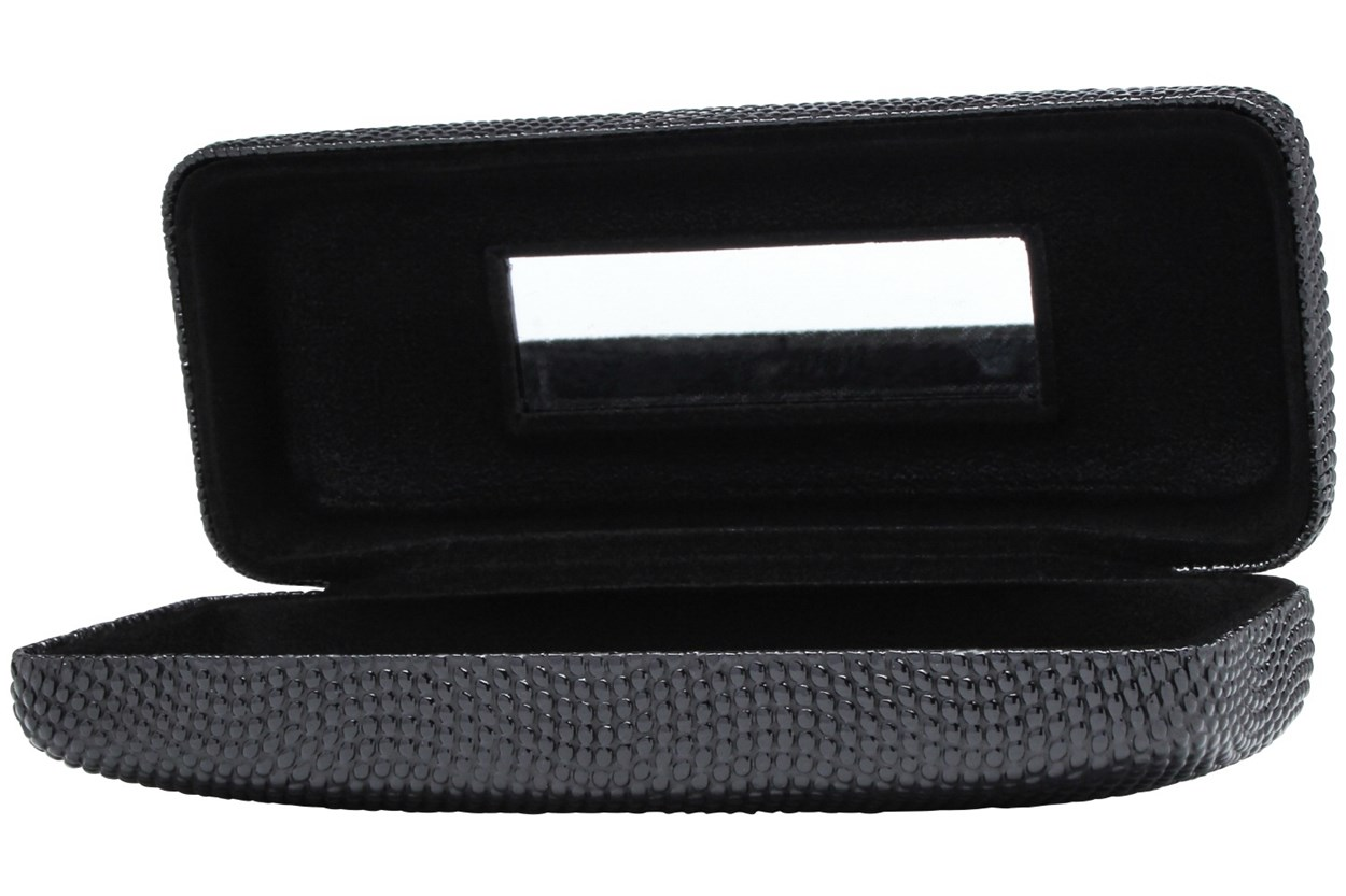Alternate Image 1 - Evolutioneyes Textured Pebble Eyeglass Case Black GlassesCases