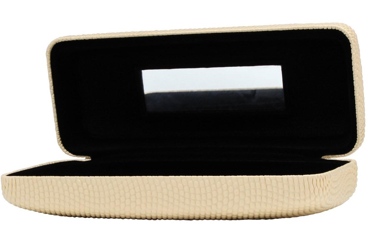 Evolutioneyes Textured Pebble Eyeglass Case Tan GlassesCases