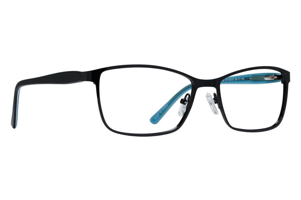 Dea Extended Size Accera Black Eyeglasses